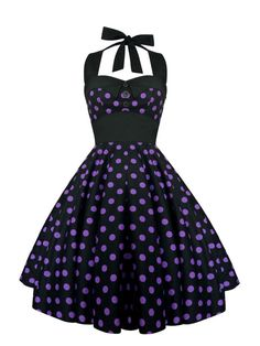 Lady Mayra Ashley Polka Dot Dress Vintage Rockabilly Pin Up 1950s Retro Style Gothic Lolita Steampunk Swing Prom Party Plus Size Clothing