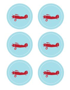 Plane Party Printables – Short Stop Designs Planes Birthday, Planes Party, Vintage Airplane Party, Vintage Airplanes, Boy Birthday Parties, Birthday Party Decorations, Decoration Party, Birthday Ideas, Moldes Para Baby Shower