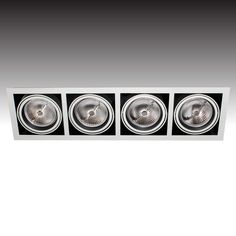 The quadruple MAXi-LED gimbal uses Luxeon #LED technology and produces a tight beam with low glare - from Photec Lighting