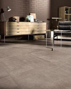 Piastrelle in gres porcellanato effetto cemento. colore Tan Collezione Carnaby: http://www.supergres.com/your-home/pavimenti/item/571-carnaby