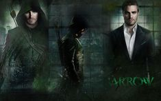 A wallpaper of the Green Arrow and Oliver Queen from the CW's Arrow. I do not own Arrow, I just created the wallpaper. Arrow Cw, Arrow Oliver, Green Arrow, The Cw, Speedy Arrow, Personnage Dc Comics, Arrow Flash, Arrow Background, Arrow Tv Series