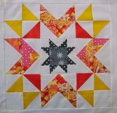 """Megan's Star - A Tutorial-I found some star designs that I liked and tweaked them to make this star.  I am calling it Megan's Star -It is jumbo sized at 18"""" finished"""