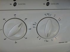 Well!  some time ago, my little wife had to go in hospital for a canny while. So it fell to me to be chief bottle washer... I managed to cope with most household jobs, but the washing machine had me beat..lol! So I solved the problem by taking a picture of the dials and took them to the hospital, were wifey talked me through it, much to the amusement of the nursing staff..dumbkoph!
