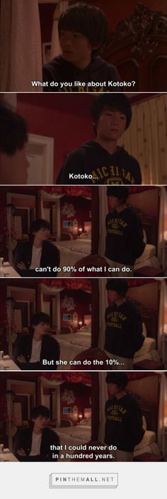 What a perfect way to sum up why their relationship works. Itazura Na Kiss Love In Tokyo 2