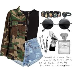 camolicous by iisabellak-1 on Polyvore featuring mode, MANGO, NLY, Levi's, Ole Lynggaard, River Island, Retrò, Aesop, BOBBY and round sunglasses