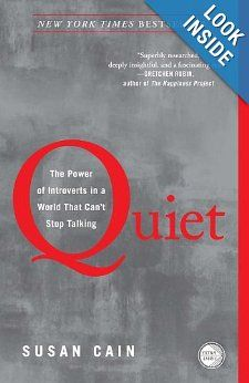 Amazon.com: Quiet: The Power of Introverts in a World That Can't Stop Talking (9780307352156): Susan Cain: Books