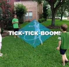 Get outside and dream up a fun backyard game.  You could win a $10,000 scholarship! www.clifkidbackyardgame.com  Tick-Tick-Boom - Compete against your friends and the clock while you hula hoop, jump rope, and other fun activities.