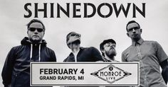 Grand Rapids MI! #Shinedown tonight at 20 Monroe Live!...