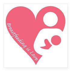 Breastfeeding is Love Sticker