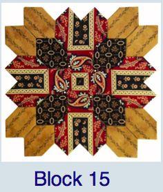 Pieceful Gathering Block 15