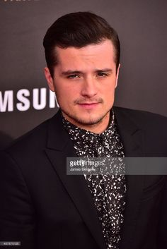 Josh Hutcherson attends the 'The Hunger Games: Mockingjay- Part 2' New York premiere at AMC Loews Lincoln Square 13 theater on November 18, 2015 in New York City.