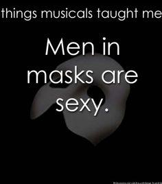 Especially if its Gerard Butler. #phantomoftheopera