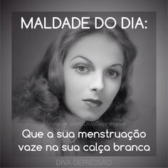 Diva depressão Great Quotes, Me Quotes, Diva E, Sarcastic Quotes, Quote Of The Day, Quotations, Life Is Good, Jokes, Thoughts