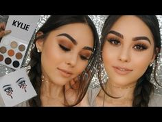 KYLIE COSMETICS KyShadow Palette First Impression Review + Easy Brown Smoky Eye Tutorial - YouTube