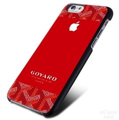 GOYARD Print Red Apple Logo iPhone Cases Case