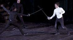 HAMLET (2015) ~ Benedict Cumberbatch, Barbican theater in London. [GIF]