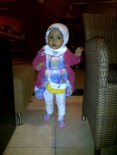 My baby girl crochet purse