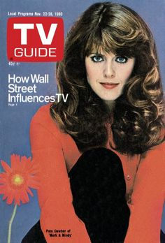 November 22, 1980 TV Guide Cover - Pam Dawber of 'Mork and Mindy'