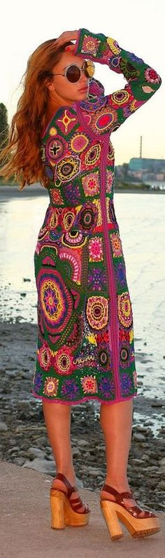 Crochet dress---i so wish i could make this. if only i had the patience!! :)