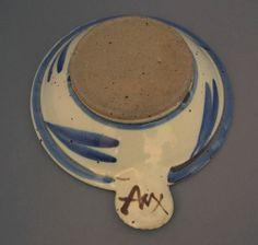 Andrew McGarva studio pottery - AM mark ANX mark ANY mark AMY mark