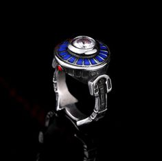 """2016 New Stainless Steel """"star wars"""" Ring Europe and America Fashion Punk Rock Retro """"High End"""" New Men's Ring 5AZSHR246-in Rings from Jewelry on Aliexpress.com 
