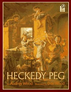 Heckedy Peg. I've read this book every fall since I was a kid. It's perfect. And the illustrations are magnificent.