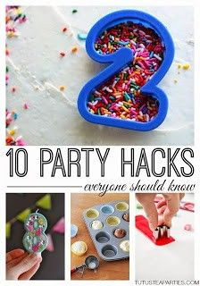 I started coming up with themed party ideas when my oldest daughter had her 2nd birthday. I really thought it would be fun to have everything match and to come up with fun themed ideas. We do parti...