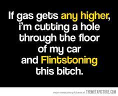 flintstoning