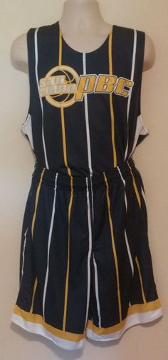 San Diego PBC Reversible Uniform Jersey Shorts Size Mens Large Team  RADMANOVIC  ALLESON bd0a8ebbd