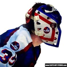Welcome Page - Slots Art Studio Hockey Helmet, Hockey Goalie, Ice Hockey, Goalie Mask, Masked Man, Nfl Fans, New York Rangers, World Of Sports, Mask Design