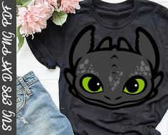 Download Toothless Face SVG How To Train Your Dragon SVG Toothless ...