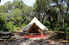 Soul Camping is a great concept in Margaret River, Western Australia. This cool campsite is Contos.