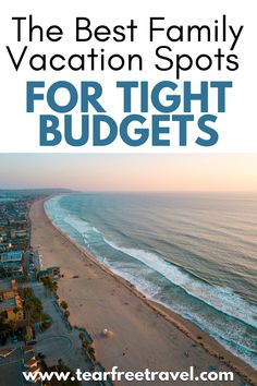 Planning a family vacation can be pretty difficult when you're on a tight budget. However, there are a ton of great family vacation spots that are great for tight budgets located all across the United States and the world! Each one of these places has a unique experience for every family, no matter what you're looking to do. Cheap Family Vacations, Best Family Vacation Spots, Family Vacation Destinations, Family Travel, Travel Destinations, Europe Travel Guide, Travel Guides, Tight Budget, Free Travel