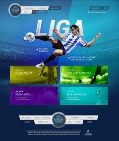 #inspiration #blue #website #hotsite #webdesign #menuui #menu #ui #promocional #brazildesign #brazil #design #footer