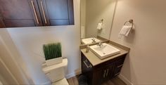 Seasons on the Boulevard is all about affordable, upscale, urban living! This bathroom combines modern elements with comfort of home!