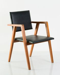 Design is fine. History is mine. — Franco Albini, prototype chair, 1950. Poggi,...
