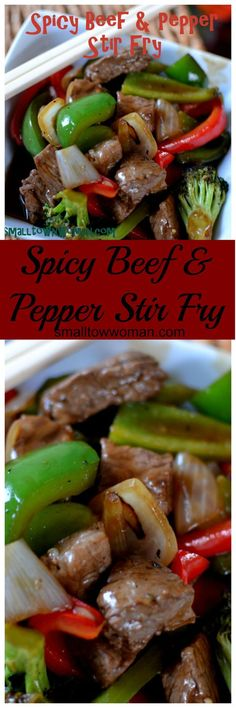 I love stir-fry.  This is an easy recipe with just the right amount of spice. If…