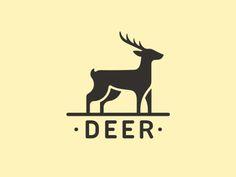 deer logo 620x465 30 Creative Animal Logo
