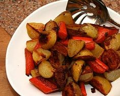 """How to Roast Potatoes to Perfection  """"My daughter's mother-in-law, in Uxbridge, England, does potatos exactly that way.  They are delicious!"""" ~ Julie"""
