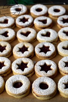 Cookie Box, Italian Cookies, Polish Recipes, How Sweet Eats, Biscotti, Christmas Cookies, Sweet Recipes, Cookie Recipes, Deserts