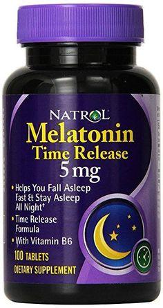 Natrol Melatonin 3 mg 240 Tabs: Natrol's melatonin supports healthy sleep patterns. The body naturally releases melatonin in response to changes in light, with melatonin levels rising at night. Insomnia Causes, Insomnia Remedies, Sleep Remedies, Home Remedies, How To Sleep Faster, How To Get Sleep, Sleep Well, Sleep Better, Good Sleep