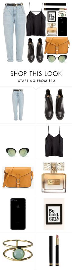 """be brave"" by rosiee22 ❤ liked on Polyvore featuring River Island, Acne Studios, Cheap Monday, H&M, Givenchy, Urban Outfitters, Ariel Gordon and Gucci"