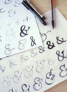 Hi guys! It's Megan  and I am back today to talk all about the ampersand.   I have a love/hate relationship with the ampersand.    I lo...