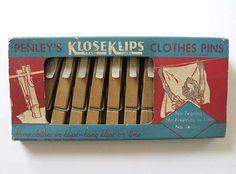 1950 Vintage Penley's KloseKlips