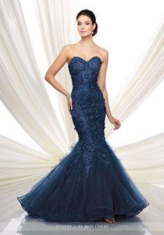 Ivonne D. 216D41 Blue Mother Of The Bride Dress