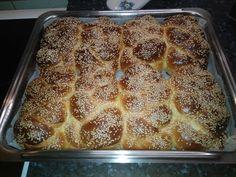 Τσουρεκάκια με ίνες μόνο με 1 αυγό Banana Bread, French Toast, Breakfast, Cake, Desserts, Food, Morning Coffee, Tailgate Desserts, Deserts