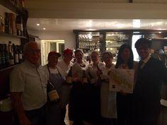Il Gargano Restaurant, Wine dinner. The staff