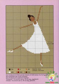 bailarinas patrones  www.6diy.com/...