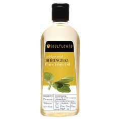Soulflower Coldpressed Bhringraj Pure Herb Oil, 6.77 fl.oz *** This is an Amazon Affiliate link. You can find more details by visiting the image link.