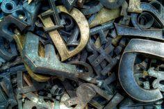 letters (D) by gautelfr, via Flickr